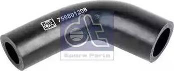 DT Spare Parts 119180 - Hydraulic Hose, steering system detali.lv
