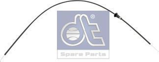 DT Spare Parts 122564 - Cable, heater flap detali.lv