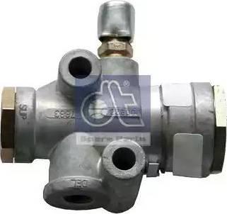 DT Spare Parts 244067 - Valve, power steering detali.lv