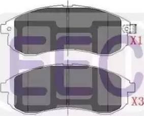 EEC DPF063 - Soot/Particulate Filter, exhaust system detali.lv