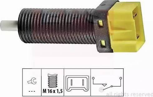 EPS 1810134 - Switch, clutch control (cruise control) detali.lv
