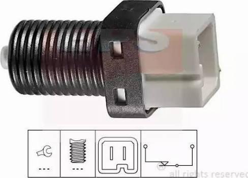 EPS 1810217 - Switch, clutch control (cruise control) detali.lv