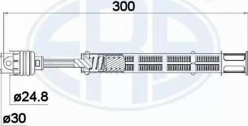 ERA 668005 - Dryer, air conditioning detali.lv