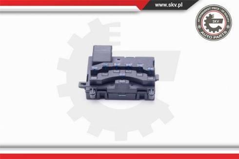 Esen SKV 17SKV383 - Steering Angle Sensor detali.lv
