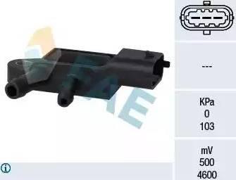 FAE 16107 - Sensor, exhaust pressure detali.lv