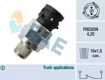 FAE 18114 - Sensor, compressed-air system detali.lv
