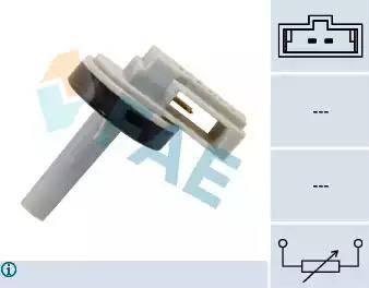 FAE 33870 - Sender Unit, interior temperature detali.lv