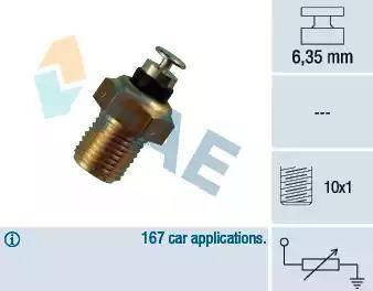 FAE 32110 - Sensor, coolant temperature detali.lv