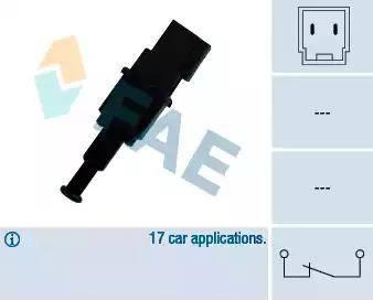 FAE 24490 - Brake Light Switch detali.lv