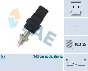 FAE 24450 - Brake Light Switch detali.lv