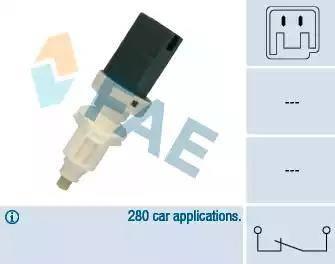 FAE 24660 - Brake Light Switch detali.lv