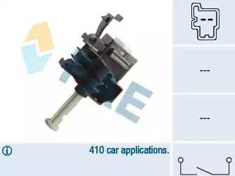 FAE 24854 - Switch, clutch control (cruise control) detali.lv