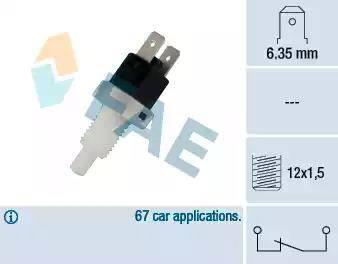 FAE 24200 - Brake Light Switch detali.lv