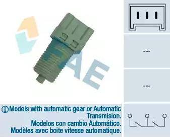 FAE 24700 - Brake Light Switch detali.lv