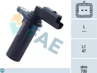 FAE 79251 - RPM Sensor, manual transmission detali.lv