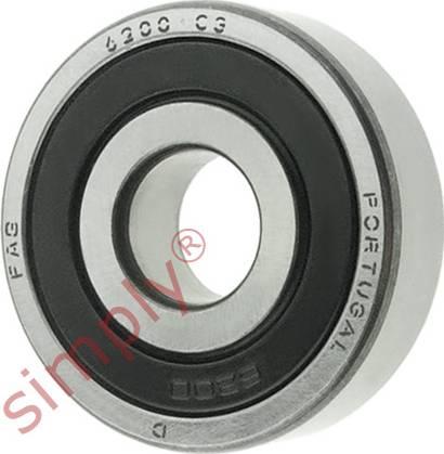 FAG 62002RSRC3 - Alternator Freewheel Clutch detali.lv