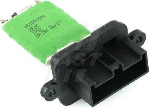 Fast FT59101 - Control Unit, heating / ventilation detali.lv