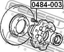 Febest 0484003 - Wheel Stud detali.lv