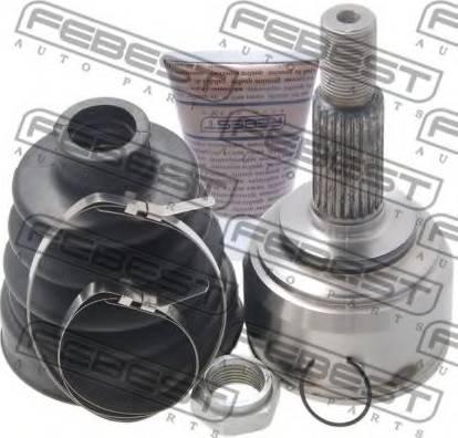 Febest 0210K12E - Joint Kit, drive shaft detali.lv