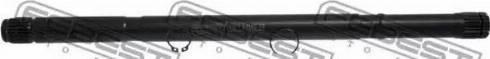 Febest 0212N16LH - Drive Shaft detali.lv