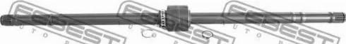 Febest 0212P10RH - Drive Shaft detali.lv