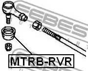 Febest MTRBRVR - Repair Kit, tie rod end detali.lv