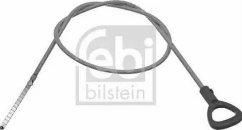 Febi Bilstein 49581 - Oil Dipstick, automatic transmission detali.lv