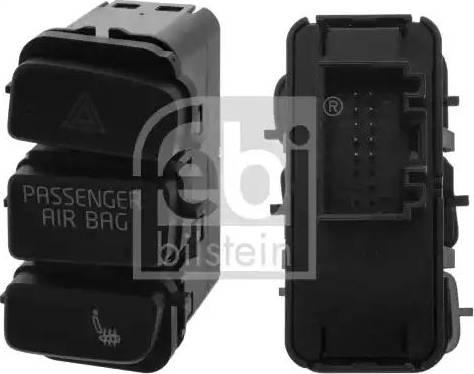 Febi Bilstein 44394 - Switch, seat heating detali.lv