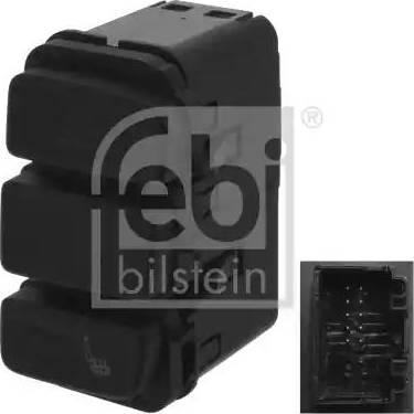 Febi Bilstein 44395 - Switch, seat heating detali.lv
