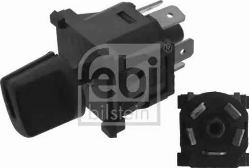 Febi Bilstein 45623 - Blower Switch, heating/ventilation detali.lv