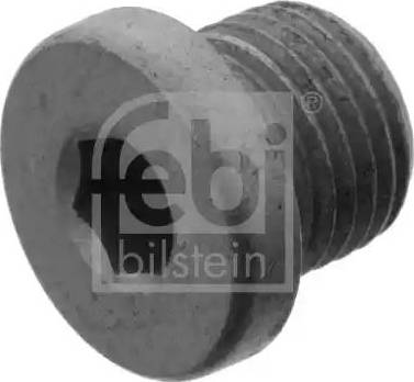Febi Bilstein 46267 - Screw Plug, transmission housing detali.lv