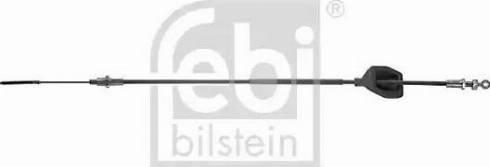 Febi Bilstein 08914 - Cable, automatic transmission detali.lv
