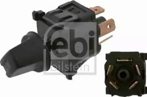Febi Bilstein 14078 - Blower Switch, heating/ventilation detali.lv
