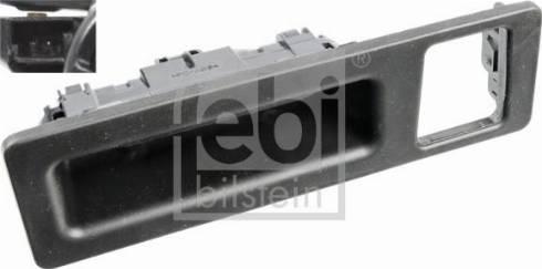 Febi Bilstein 108219 - Switch, rear hatch release detali.lv