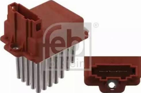 Febi Bilstein 30601 - Control Unit, air conditioning detali.lv