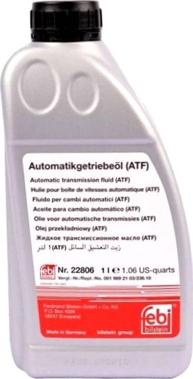 Febi Bilstein 22806 - Power Steering Oil detali.lv