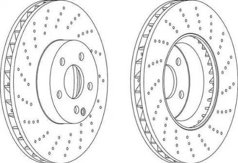 Kortex KD0267 - High Performance Brake Disc detali.lv