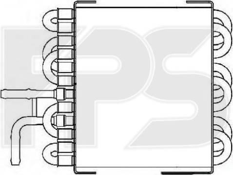 FPS FP 46 A1016-X - Fuel radiator detali.lv