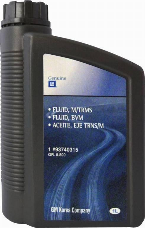 General Motors 93740315 - Oil, auxiliary drive detali.lv