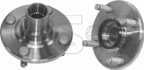 GSP 9426021 - Wheel Hub detali.lv