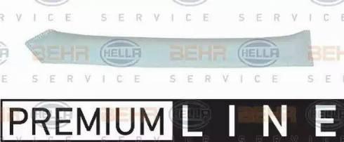 HELLA 8FT351198691 - Dryer, air conditioning detali.lv