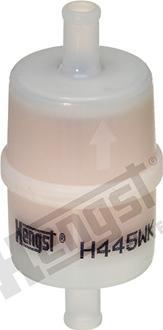 Hengst Filter H445WK - Air Filter, compressor intake detali.lv