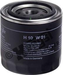 Hengst Filter H10W01 - Air Filter, compressor intake detali.lv