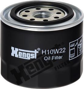 Hengst Filter H10W22 - Hydraulic Filter, automatic transmission detali.lv