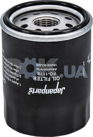 Ashika 1001117 - Oil Filter detali.lv
