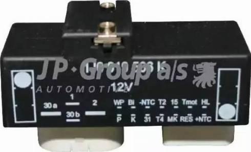 JP Group 1199150100 - Control Unit, electric fan (engine cooling) detali.lv