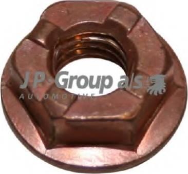 JP Group 1101100600 - Nut, exhaust manifold detali.lv