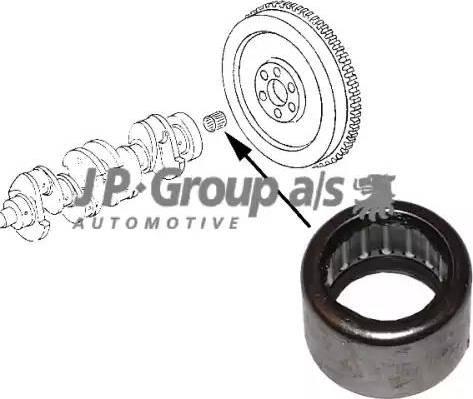JP Group 1110450300 - Pilot Bearing, clutch detali.lv