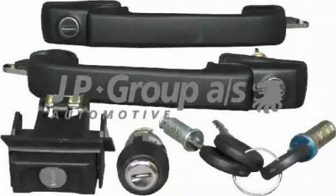 JP Group 1187500410 - Lock Set, locking system detali.lv
