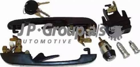 JP Group 1187500210 - Lock Set, locking system detali.lv